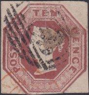 England  .   SG   57  (2 Scans)  Dickinson Paper With Silk  Threads .     O   .    Cancelled .   /    .   Gebruikt - Gebruikt