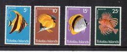 TOKELAU - 1975 - Pesci - 4 Valori - Nuovi - Linguellati * -  (FDC17191) - Tokelau