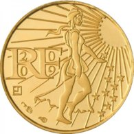 100 Euros Or 2009 - France