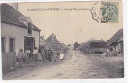 Saône-et-Loire - St-maurice-en-Rivière - Grande Rue De Chevrey - France