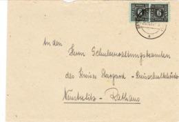 Sow. Mecklenburg - Vorpommern, Brief Dolgen - Post Grünow Nach Neustrelitz - Sowjetische Zone (SBZ)