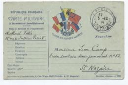 FM GUERRE 14-18   --RECTO/VERSO - B70 - Guerre 1914-18