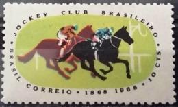 BRAZIL #1086  - HORSE RACE TRACK  - RACING - 1968 - Brazil