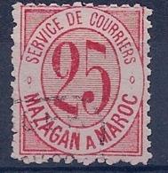 MAROC - MAZAGAN MARRAKECH 44 OBL USED COTE 35EUR - Marokko (1891-1956)