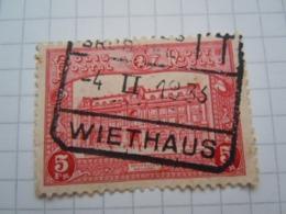 Tr 172  Cachet Wiethaus - Chemins De Fer