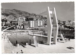 Principauté De Monaco-Monte-carlo - La Piscine Et La Montée Du Casino - Monaco
