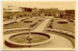 UK BOGNOR REGIS 1930/40 Mint Sepia Postcard (Norman Card Hastings) Marine Garden - Bognor Regis