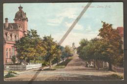 Rue Fraser Lévis Levis ( Quebec ) - Thetford Mines West 1910 Postmark - Illustrated Post Card Co - Levis