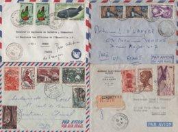 Colonies Francaises - Lot De 17 Lettres - Voir Scan - France (ex-colonies & Protectorats)