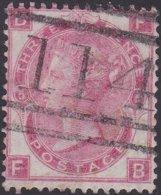 England  .   SG   103  .  Pl.  5 ( 2 Scans ) .  Wmk Spray Of Rose   .  O   .    Cancelled .   /   .   Gebruikt - Oblitérés