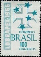 BRAZIL #1029  - 1st International Philatelic Exhibition - LUBRAPEX 1966 - Brazil