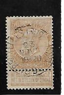 Belgique N 62 BRUXELLES Sud-Ouest - 1893-1900 Fine Barbe