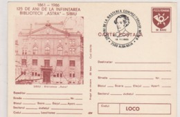 MUSIC  Weber Postcard ROMANIA 1986 WITH SPECIAL POSTMARK COMPOSER WEBER 200 YEARS AFTER WEBER'S BIRTH - Muziek