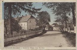 X120343 HAUTE SAONE BONBOILLON ENTREE DU VILLAGE ROUTE DE GRAY - Francia