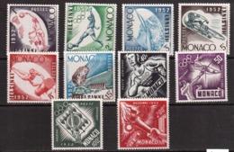 Monaco-1953,(Mi.458-467), Olympic Games 1952 - Sommer 1952: Helsinki