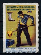 Cinderella   Protection Du Travail Veiligheidsmuseum  Antwerpen    X  (Métal Fondu) - Erinnofilie