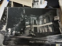 REGGIO CALABRIA DI NOTTE TEATRO COMUNALE  VB1955    HE562 - Reggio Calabria