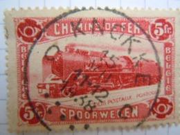 Tr 177  Cachet Rond A étoiles Knokke - Bahnwesen