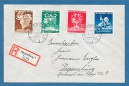 1941 DEUTSCHES REICH REGENSBURG EINSCHREIBEN FIERA DI VIENNA - Briefe U. Dokumente
