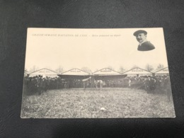GRANDE SEMAINE D'AVIATION DE LYON Molon Préparant Un Depart - ....-1914: Vorläufer