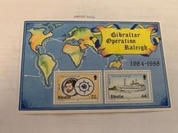 Gibraltar Operation Raleigh S/s Mnh 1988 - Gibraltar