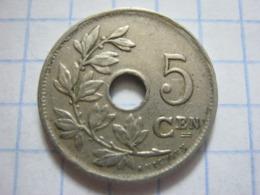 5 Centimes 1922/20 (NLD) - 1909-1934: Albert I