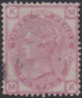 England  .   SG   143  .  Pl. 18  ( 2 Scans ) .  Wmk Spray Of Rose   .  O   .    Cancelled .   /   .   Gebruikt - Oblitérés