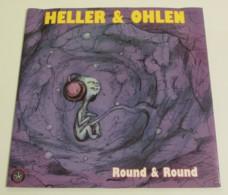 Maxi 33T HELLER & OHLEN : Round & Round - Dance, Techno & House