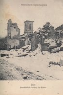 CARTE ALLEMANDE - GUERRE 14-18 - WESTFRONT - ETON - DESTRUCTIONS - Guerre 1914-18