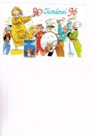 CHLOROPHYLLE : Salon De La BD  De Charleroi (Belgique) 1996. Carte Spéciale Et Oblitération Salon. - Bandes Dessinées