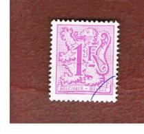 BELGIO (BELGIUM)   - SG 2468  - 1980  HERALDIC LION (17X20)  - USED - Storia Postale