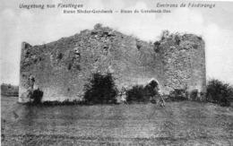 CPA 57 Moselle Fénétrange Lorraine Finstingen Ruine Nieder Gerolseck - Fénétrange