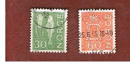 NORVEGIA  (NORWAY)    SG 532a.537   -   1964 LOCAL  MOTIVES  -   USED ° - Norvegia