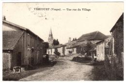 VRECOURT (88) - Une Rue Du Village - Sans éditeur - Francia