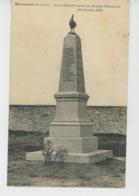 MAURECOURT - Monument Aux Morts - Maurecourt
