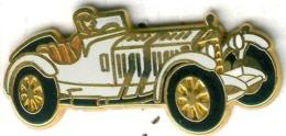 Pin's Arthus Bertrand Mercedes (3) - Type SSK 1927 Blanc - Mercedes
