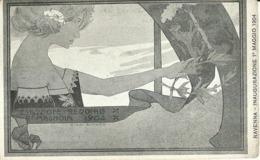 """5356 """"ESPOSIZIONE REGIONALE ROMAGNOLA 1904 - RAVENNA INAUGURAZIONE1° MAGGIO 1904  """"- CART. POST. OR. NON SPED. - Esposizioni"""