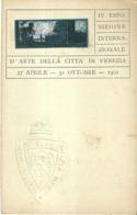 """5357 """"IV ESPOSIZIONE INTERNAZIONALE D'ARTE DELLA CITTA' DI VENEZIA-27 APRILE-31 OTTOBRE 1901""""- CART. POST. OR. NON SPED. - Esposizioni"""
