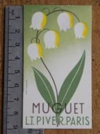 Carte Parfumée - Parfum - Muguet L.T. PIVER PARIS - Perfume Cards