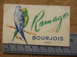 Carte Parfumée - BOURJOIS PARIS - RAMAGE - Perfume Cards