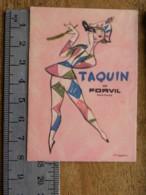 Carte Parfumée - TAQUIN DE PORVIL - Perfume Cards
