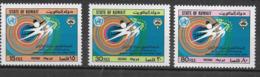 KUWAIT - 1983 - GIORNATA MONDIALE DELLA SALUTE - SERIE CPL. 3 VAL. - NUOVA MNH** (YVERT 1002/4 - MICHEL 1297) - Salute