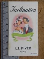 Carte Parfumée - LT PIVER PARIS - Inclination - Perfume Cards
