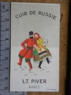 Carte Parfumée - LT PIVER PARIS - Cuir De Russie - Perfume Cards