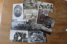 10  Photos Militaires   Divers 1918 1940 - Guerra, Militares
