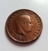 , Portugal, Carlos I, 10 Reis, 1891 N° 664 - Portugal