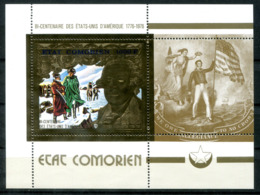 5041 - KOMOREN - Block 18 ** - 200 JAHRE USA / BI-CENTENNIAL USA - Mnh Mini Sheet - Komoren (1975-...)