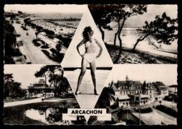33 - Arcachon Multivue Promenade Plage Casino Mauresque #05139 - Arcachon