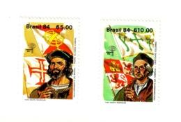 BRESIL  1984 ESPANA'84-C.COLOMB  Yvert: 1654/55  NEUF MNH** - Brésil