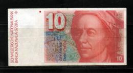 BILLET  De DIX Francs SUISSE Leonhard  EULER - Suisse